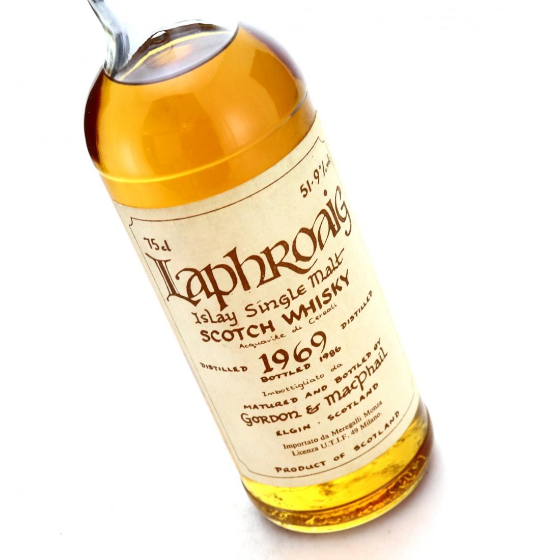 Laphroaig 1969 Gordon and MacPhail Cask Strength Celtic Label / Meregalli Import