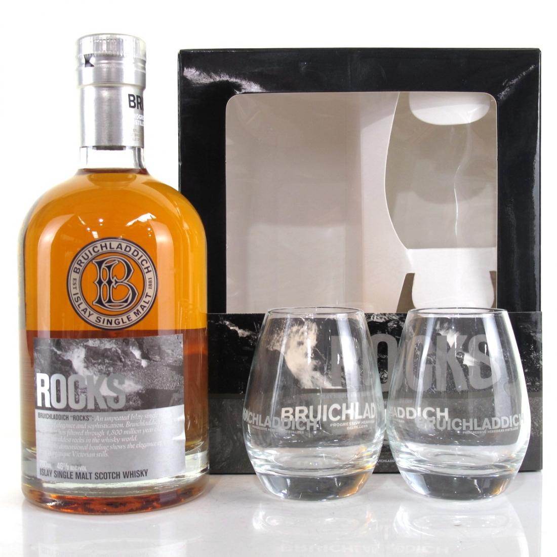 Bruichladdich Rocks 2nd Edition / with 2 x Glasses