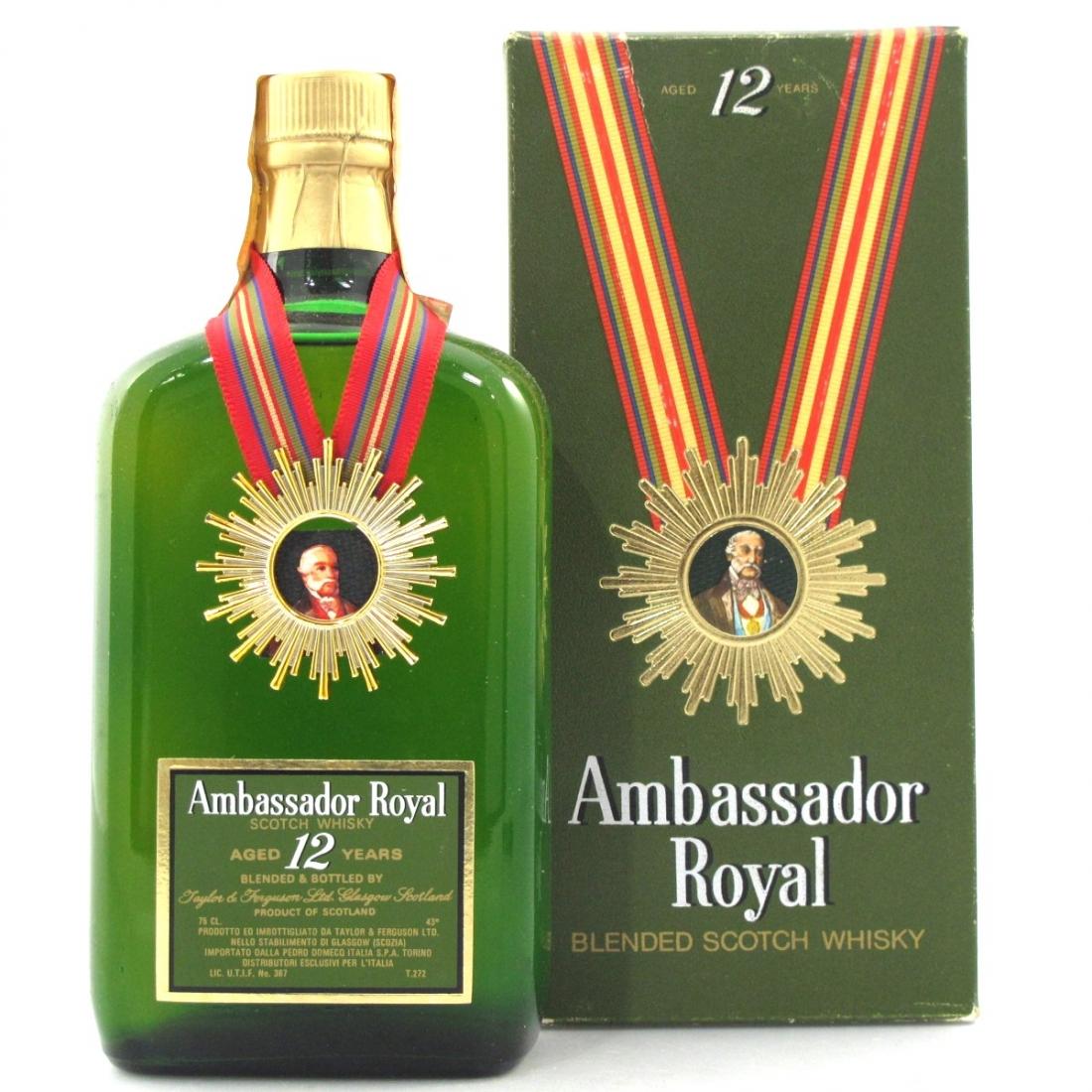 Ambassador Royal 12 Year Old 1970s