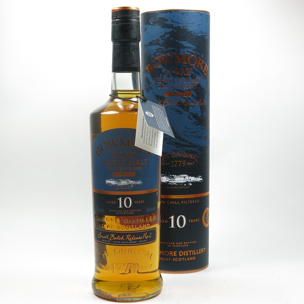 Bowmore Tempest 10 Year Old Batch #2 Front