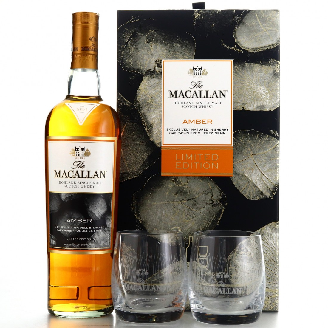 Macallan Amber Gift Pack