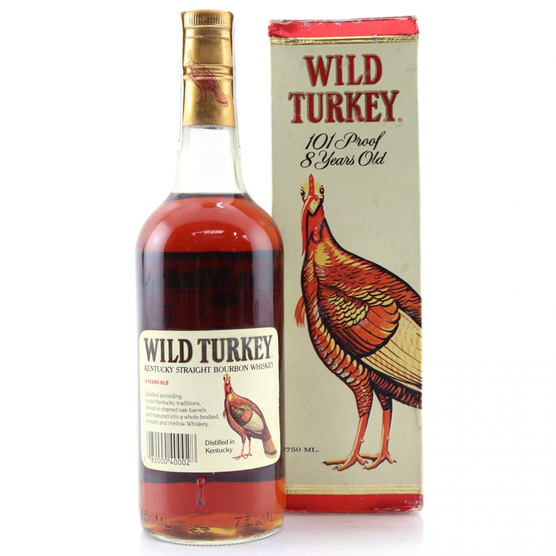 Wild Turkey 8 Year Old 101 Proof 1980s