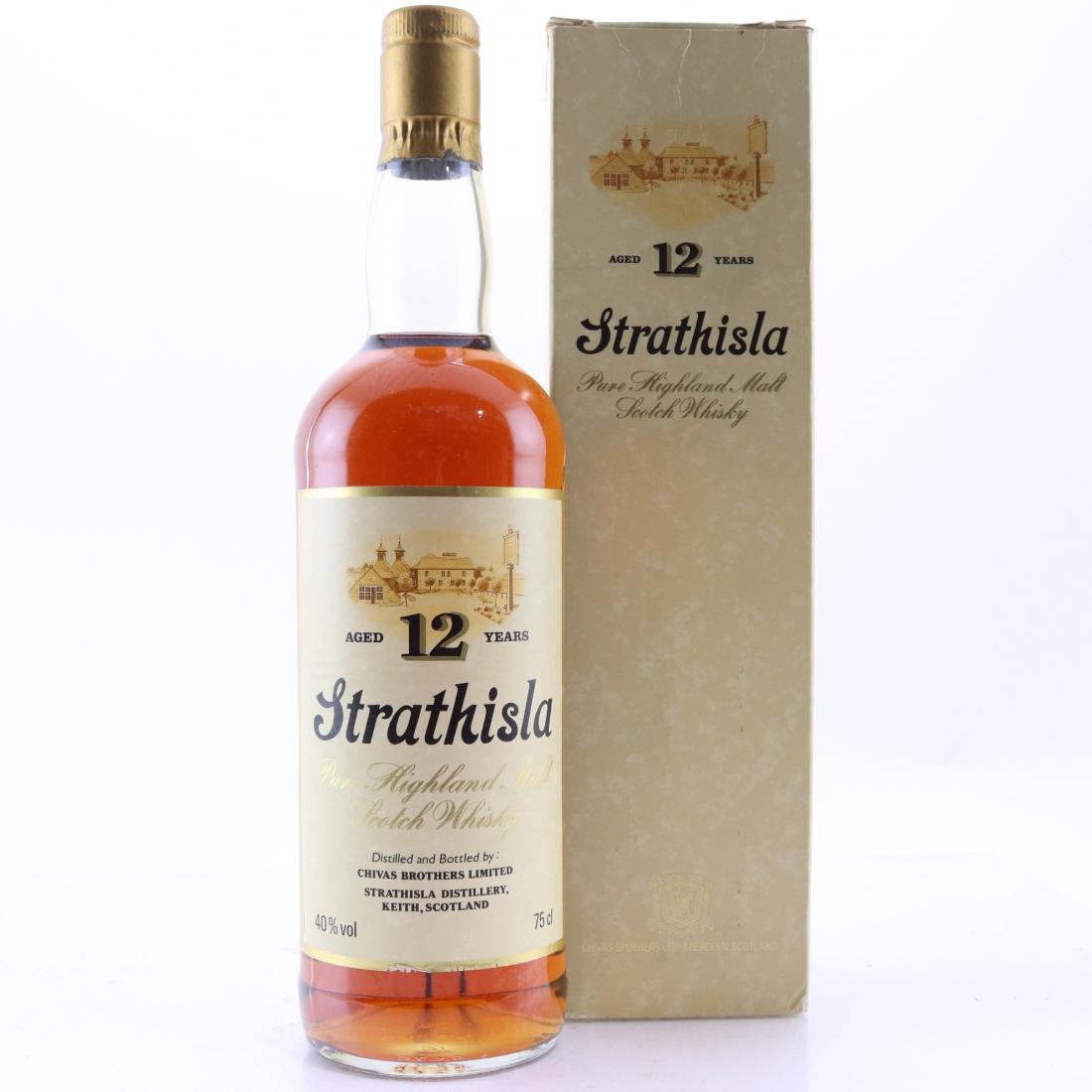 Strathisla 12 Year Old 1980s
