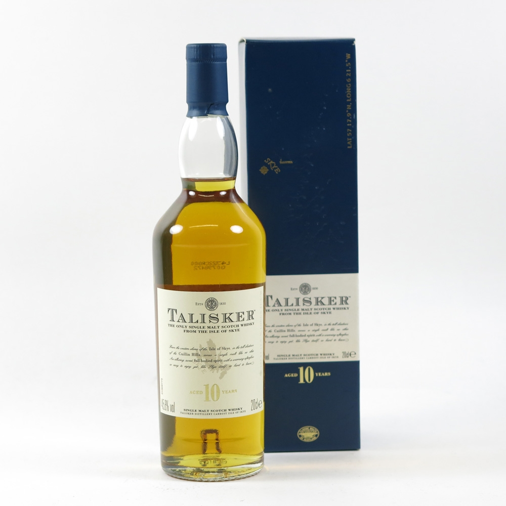 Talisker 10 Year Old 20cl Front