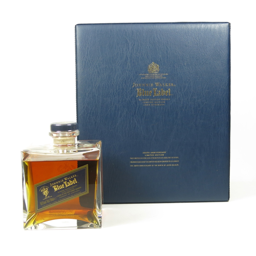 Johnnie Walker Blue Label 200th Anniversary Edition Open Back