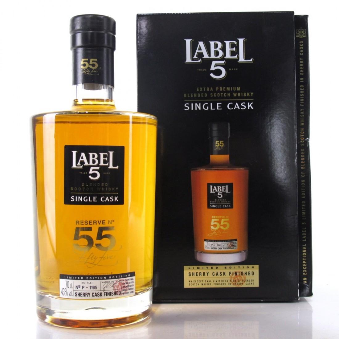 Label 5 Reserve No. 55