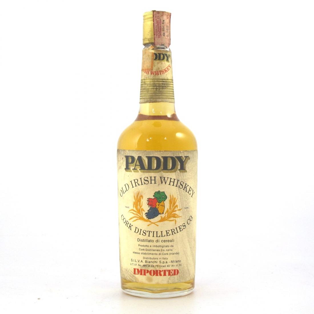 Paddy Old Irish Whiskey 1970s