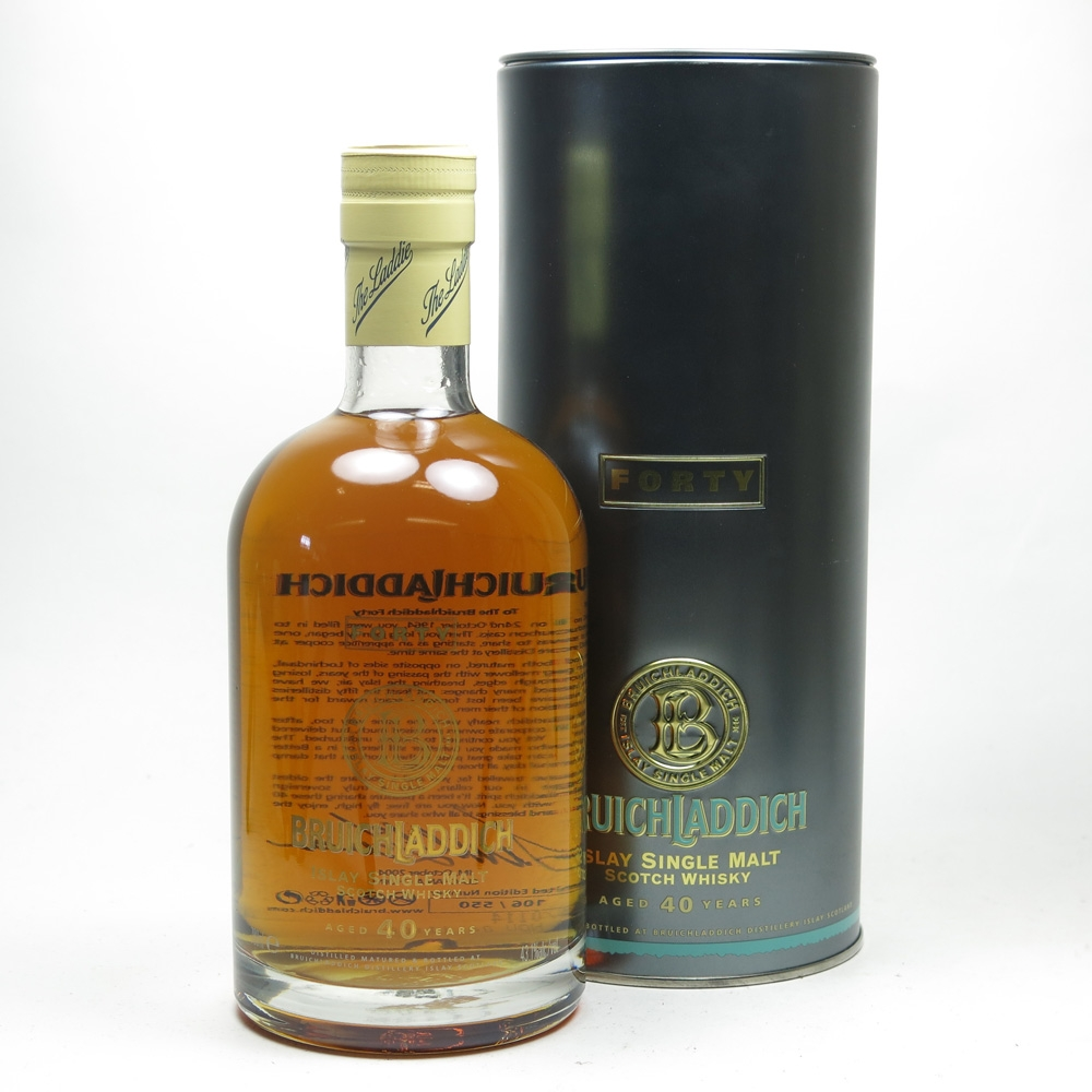 Bruichladdich 40 Year Old 1964 'The Forty' Front