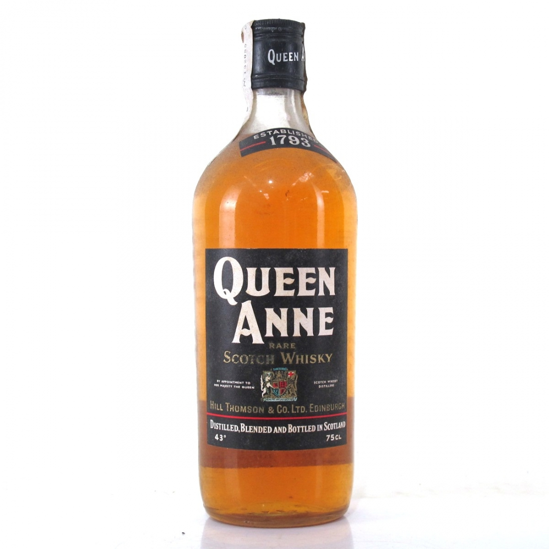 Queen Anne Rare Scotch Circa 1970s / Portuguese Import
