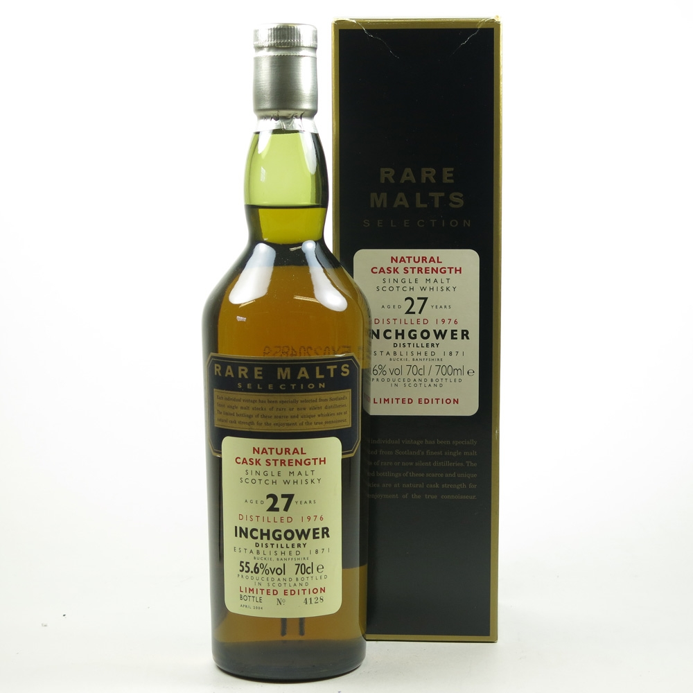 Inchgower 1976 Rare Malt 27 Year Old