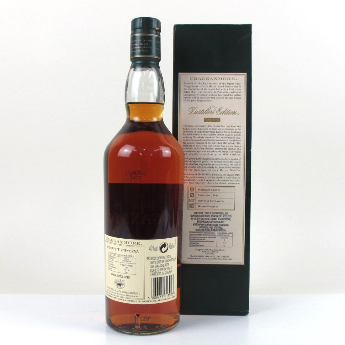 Cragganmore 1996 Distillers Edition 2008