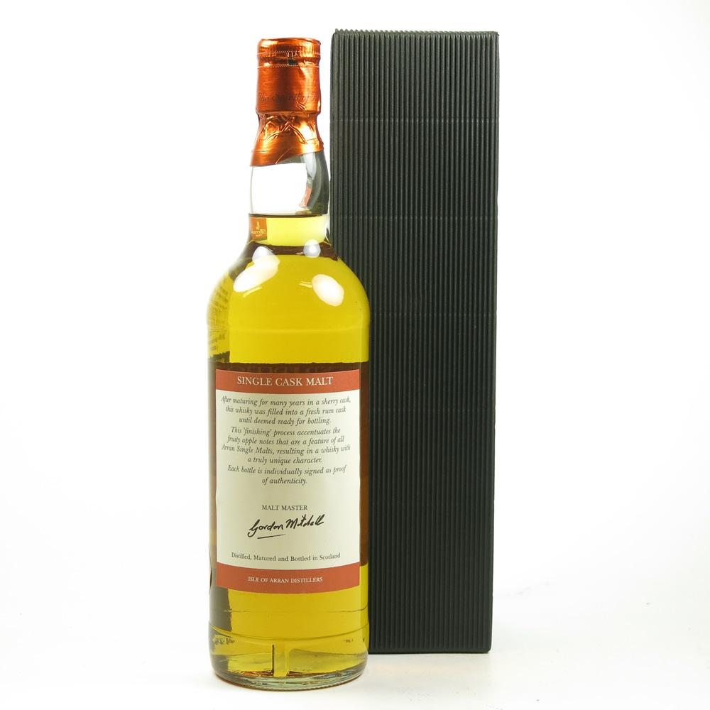 Arran 2004 Rum Cask Finish