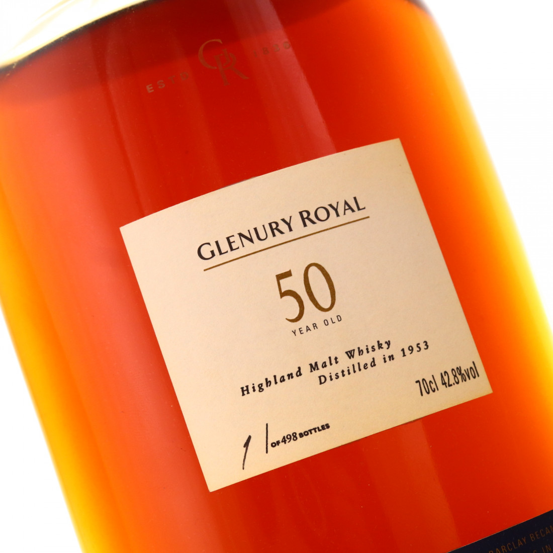 Glenury Royal 1953 50 Year Old / Bottle #1