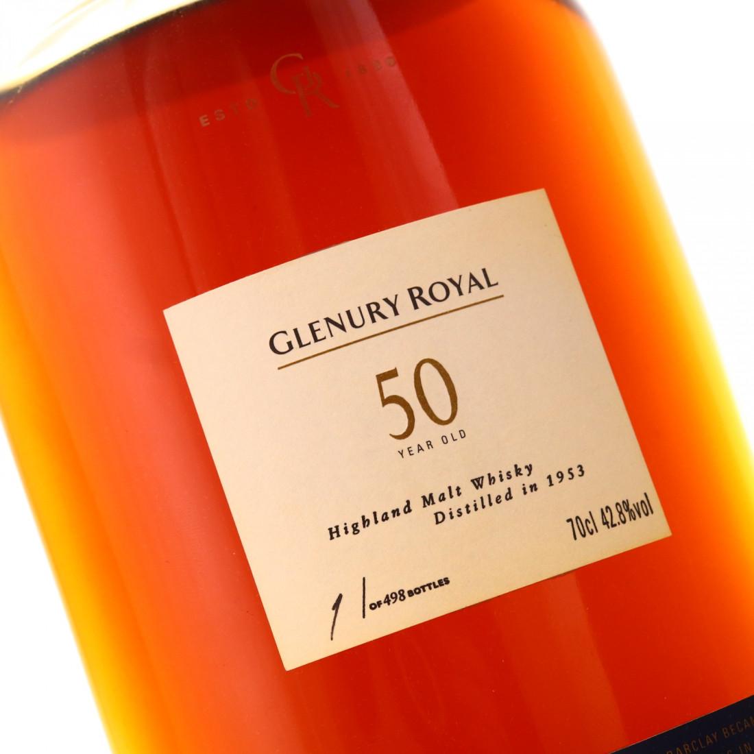 Glenury Royal 1953 50 Year Old / Bottle #1