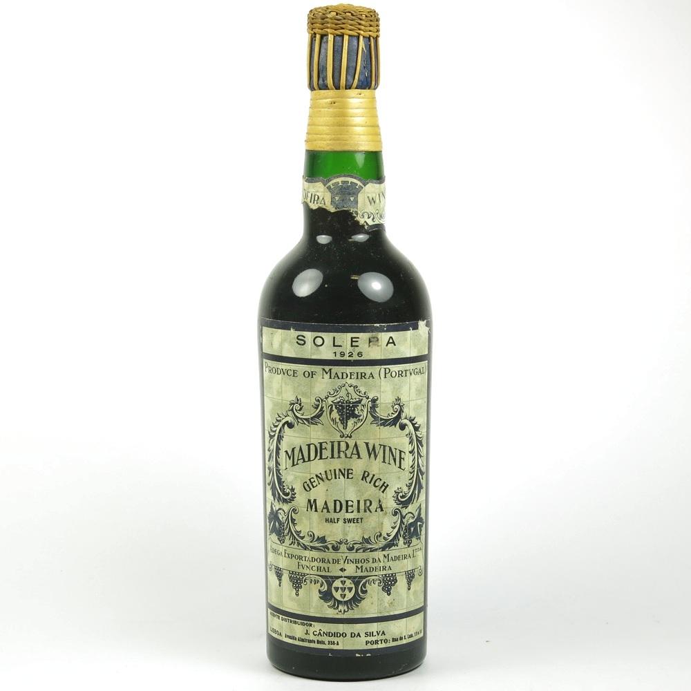 Madeira 1926 Madeira Adega Vinhos Funchal