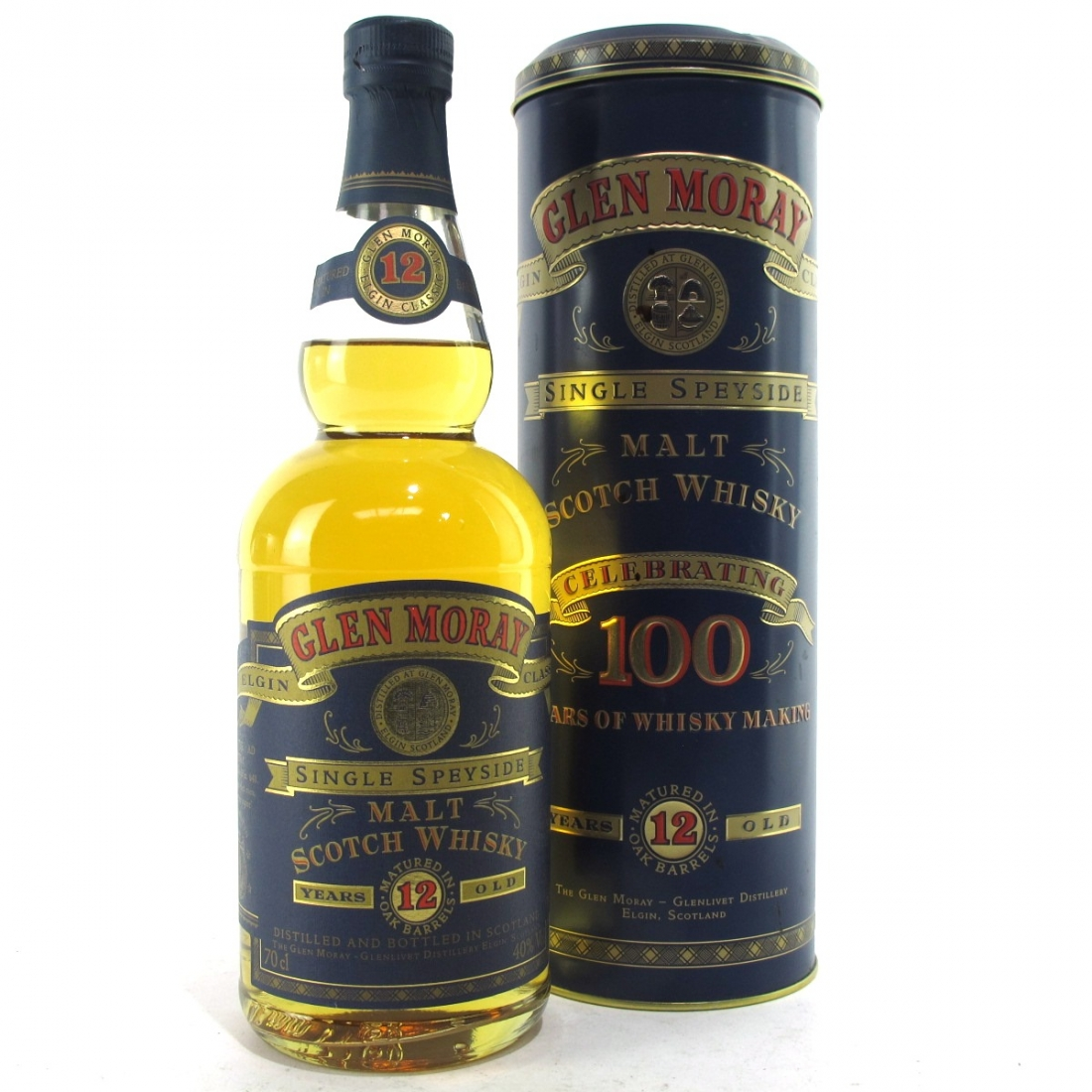 Glen Moray 12 Year Old 100 Years of Whisky Making