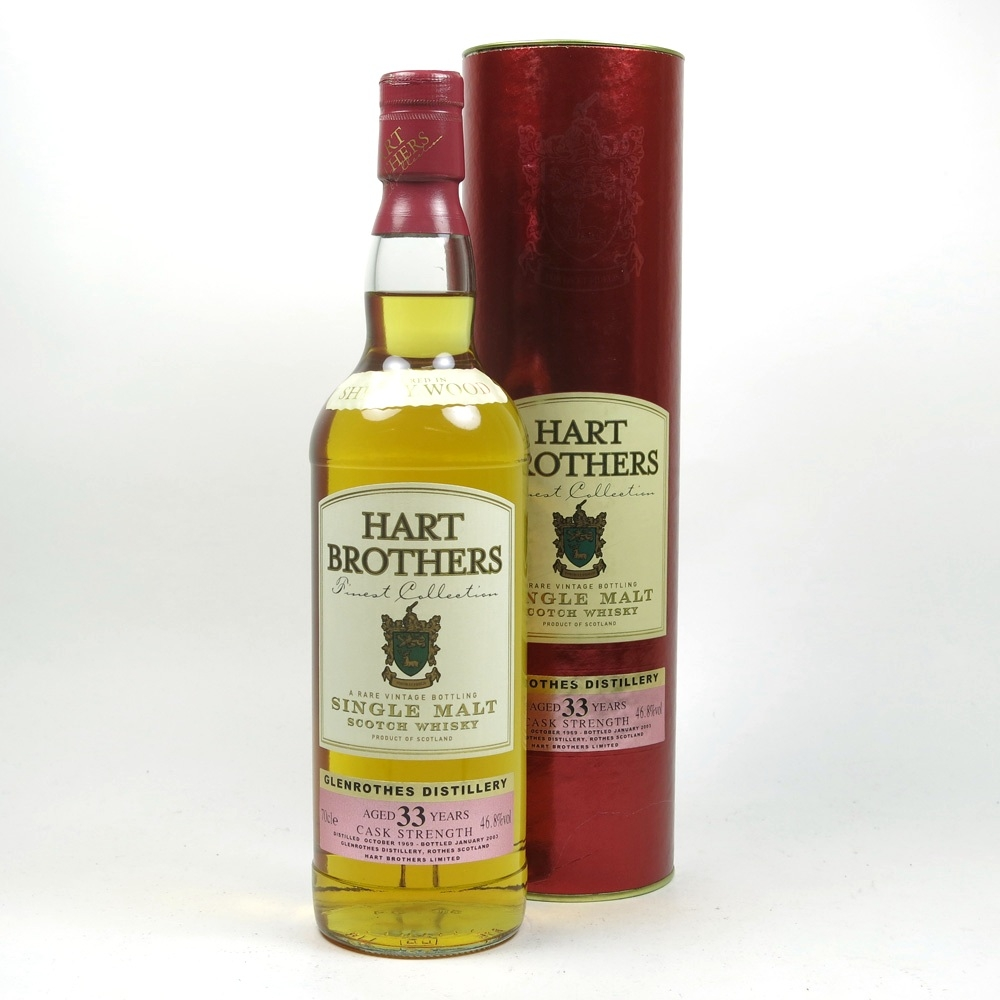 Glenrothes 33 Year Old Hart Brothers