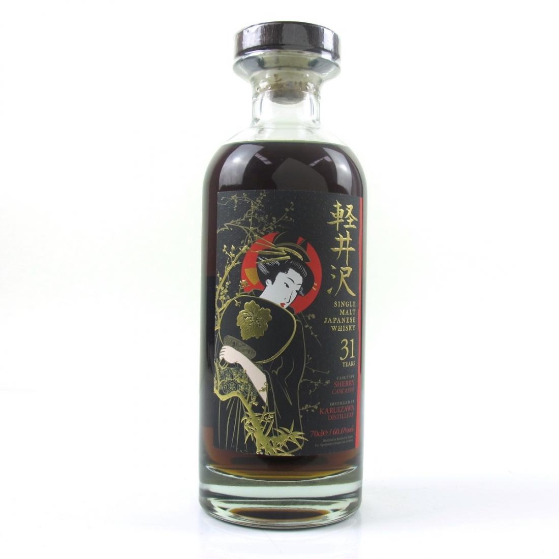 Karuizawa 1981 Single Cask 31 Year Old #3555 / TWE Geisha Label