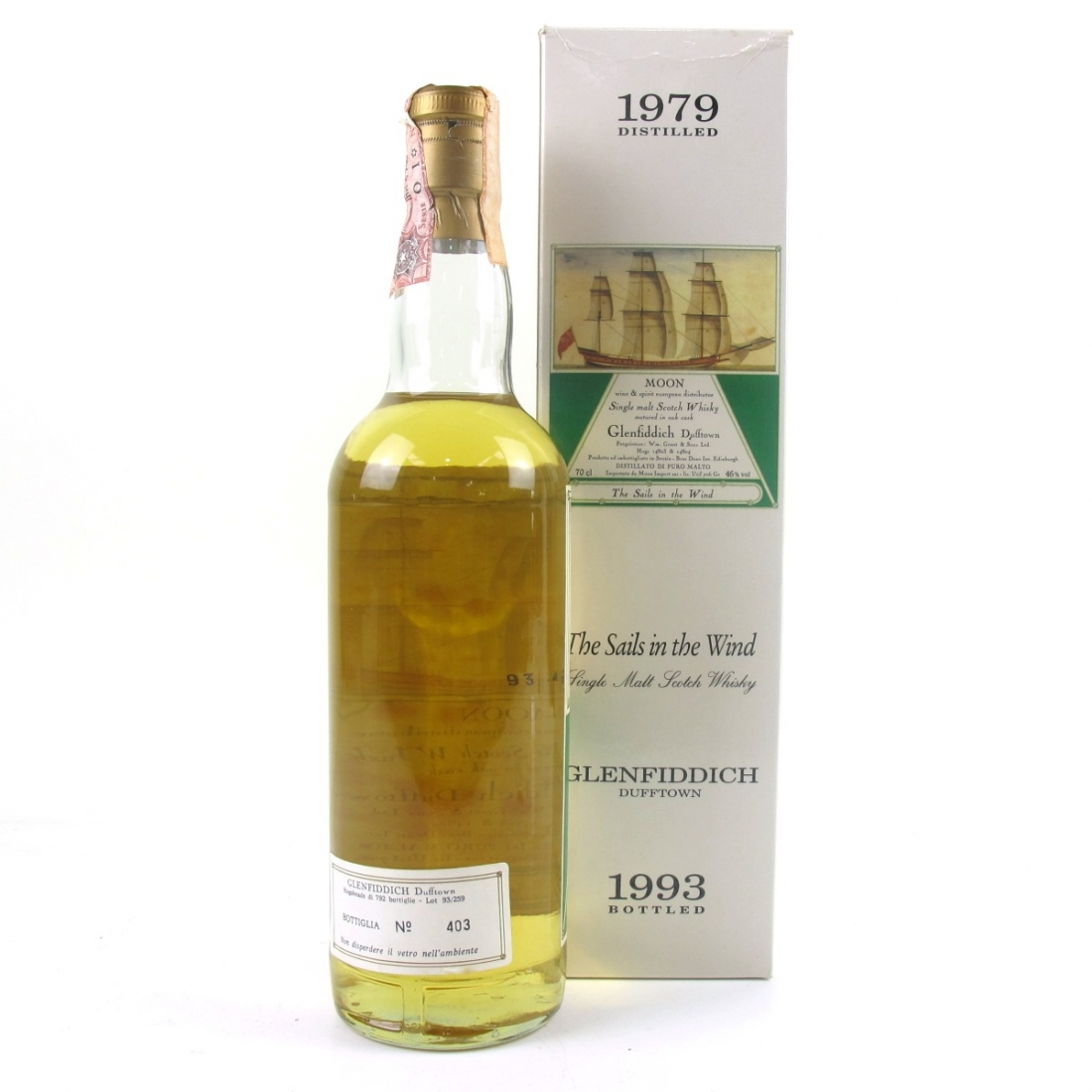 Glenfiddich 1979 Moon Import / The Sails In The Wind