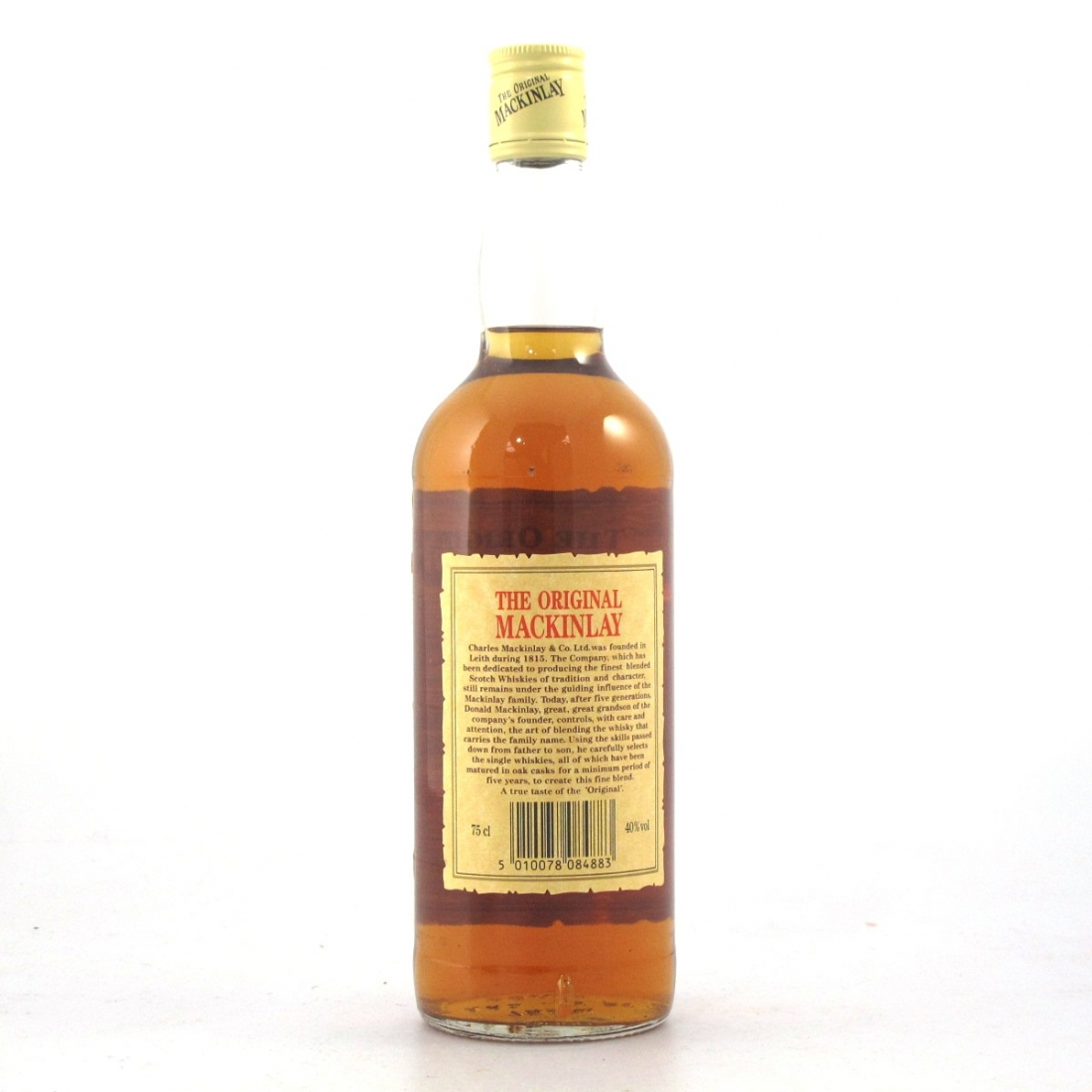 Mackinlay's Finest Old Scotch Whisky 1980s