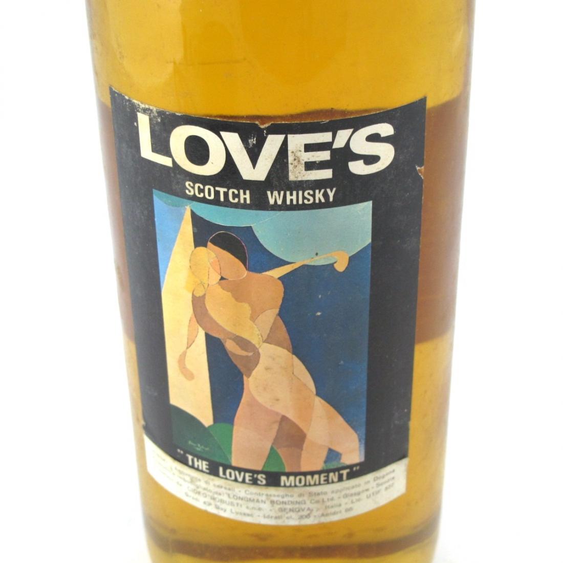 Love'sScotch Whisky 2 Litre 1960s