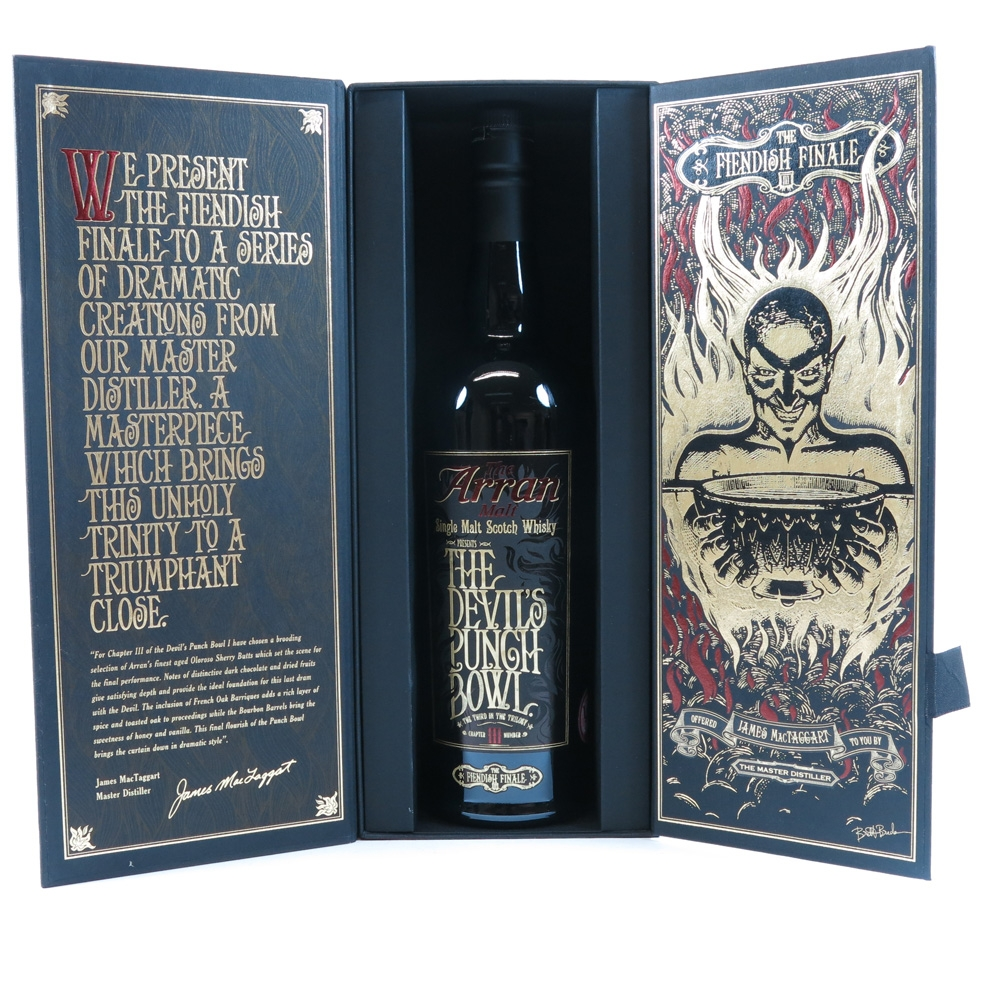 Arran Devil's Punch Bowl Chapter III boxed