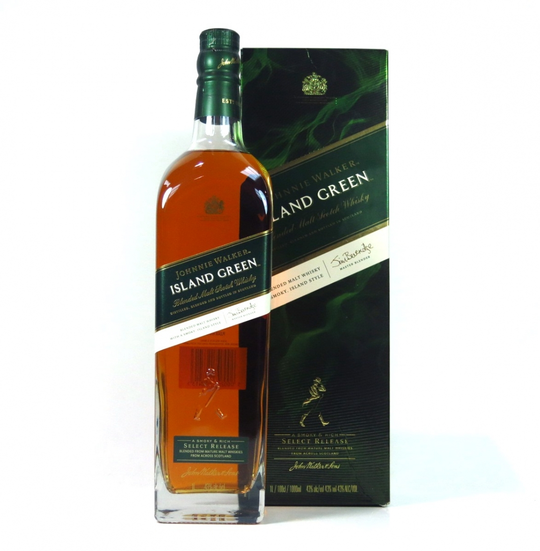 Johnnie Walker Green Label Island Edition 1 Litre
