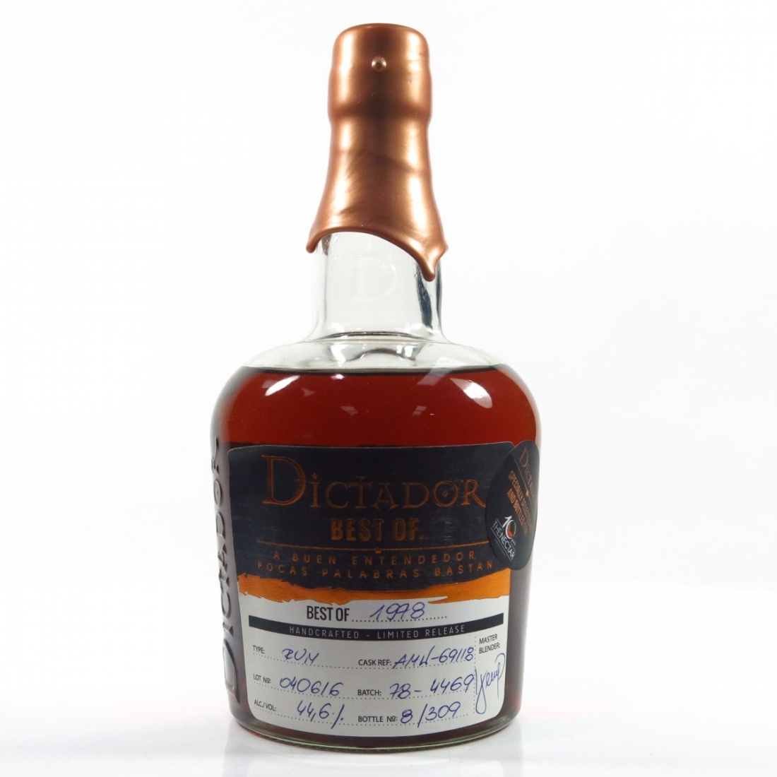 Dictador Best of 1978 Limited release / 10th Anniversary of The Nectar
