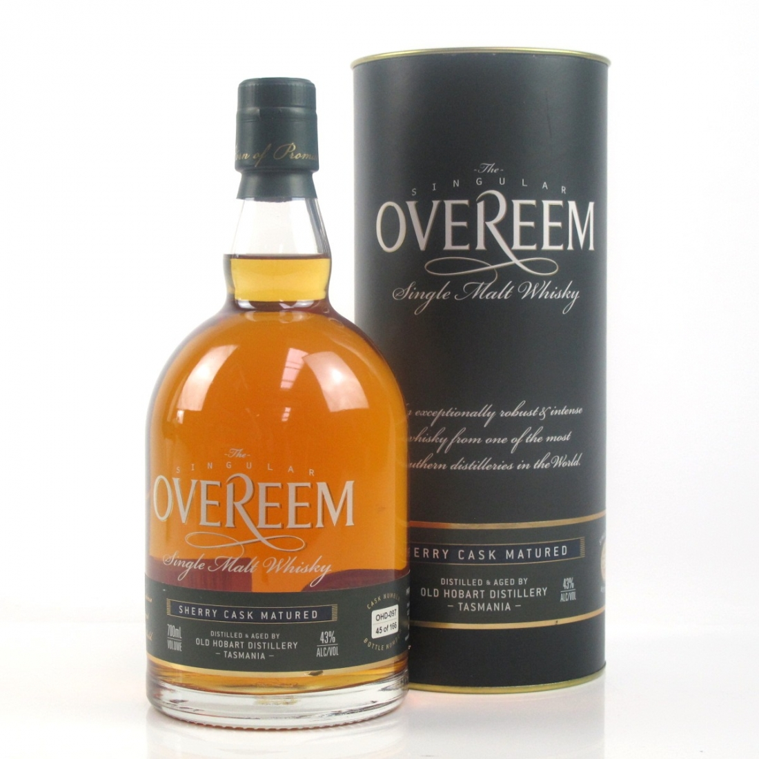 Overeem Tasmanian Single Malt Sherry Cask