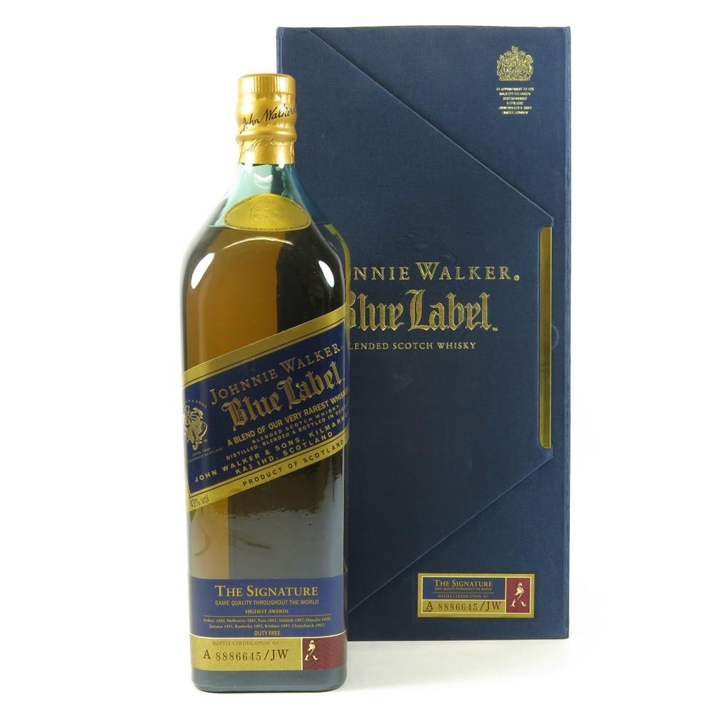 Johnnie Walker Blue Label Signature 1 Litre