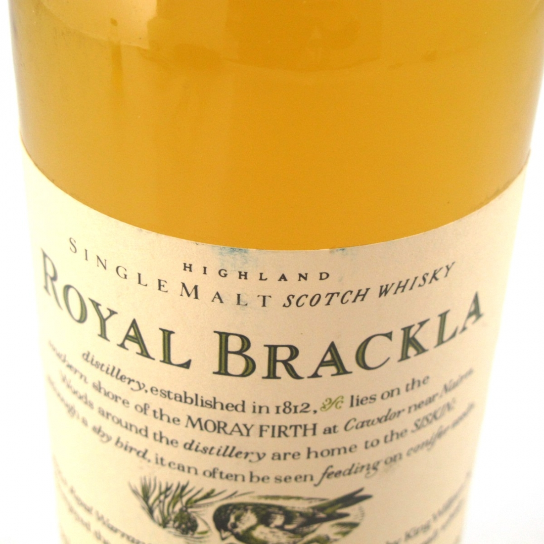 Royal Brackla 10 Years Old Flora and Fauna