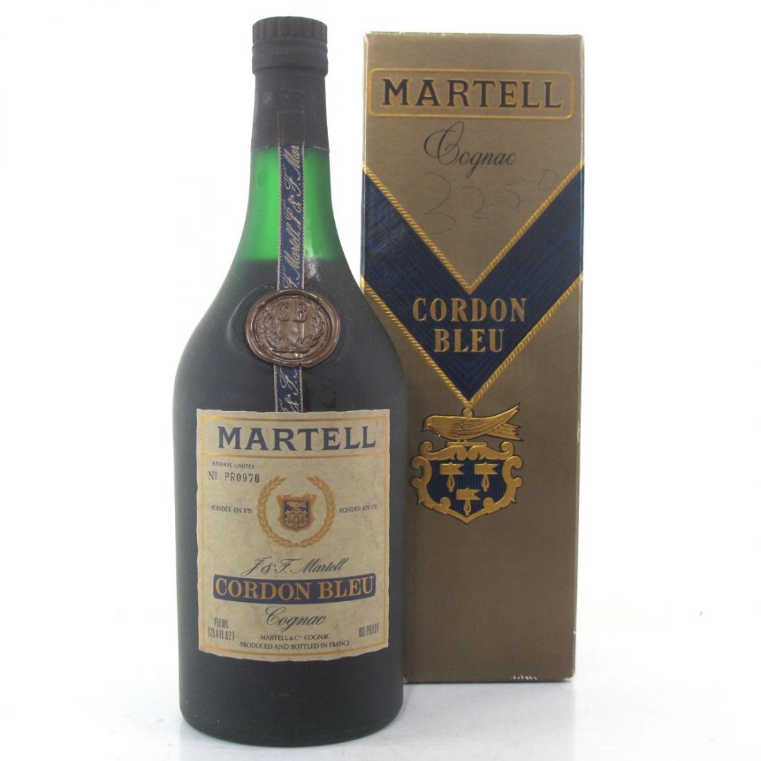 Martell Cordon Bleu Cognac 1970s
