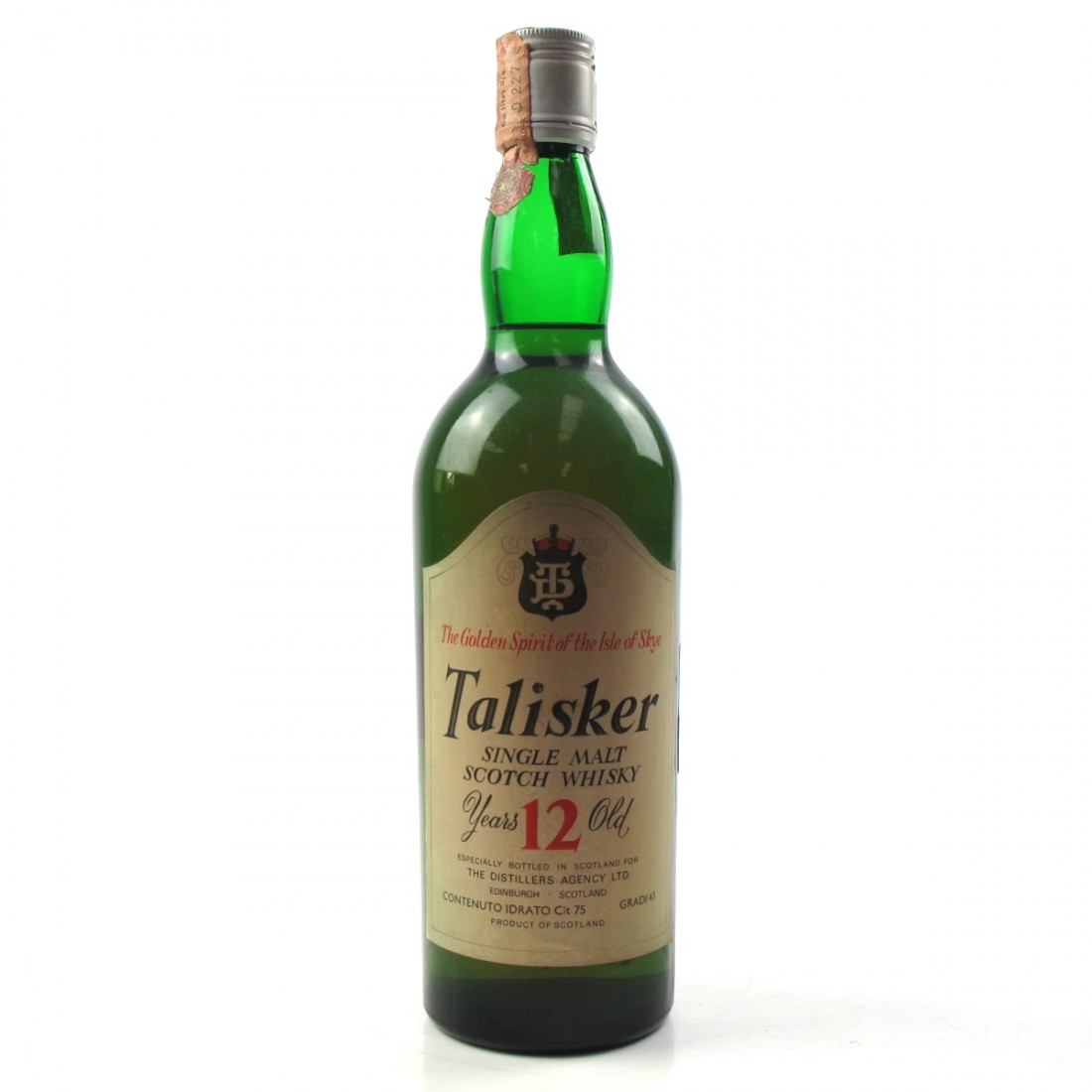 EDIT: Talisker 12 Year Old 1970s