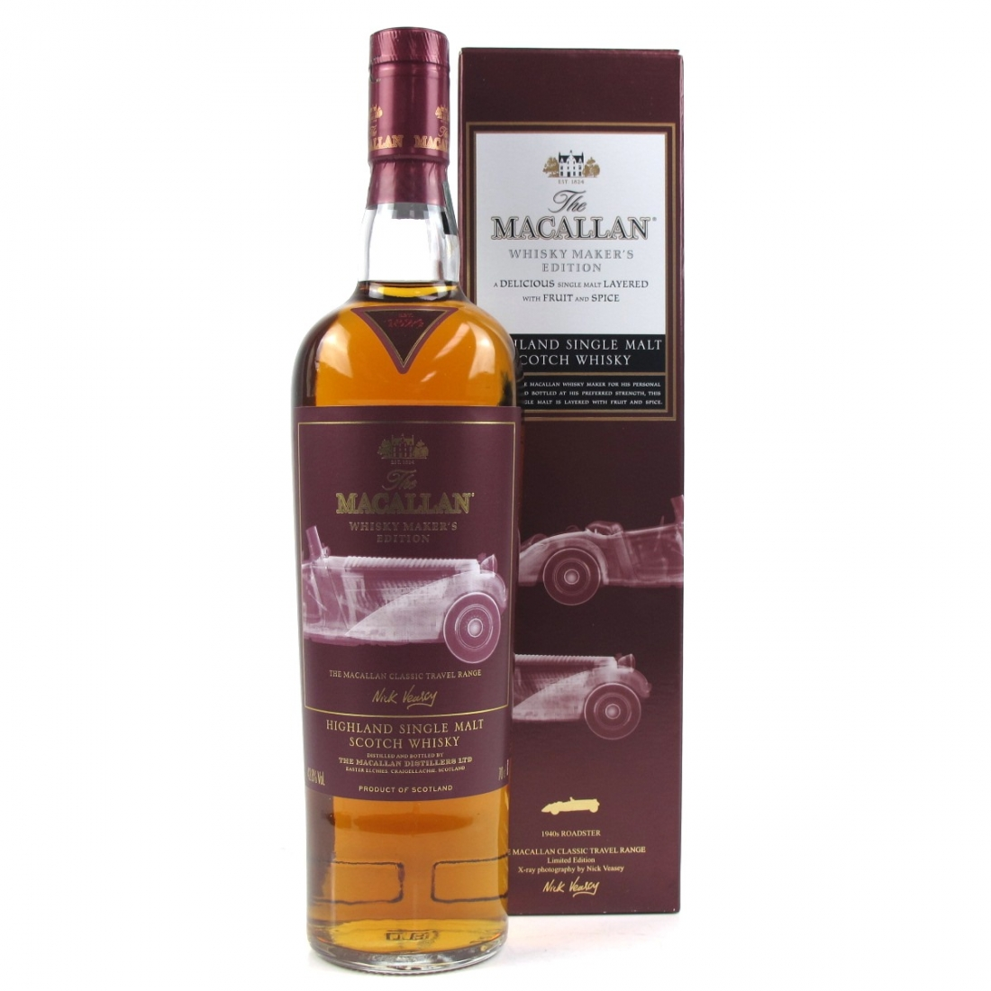 Macallan Whisky Makers Edition 1930's Roadstar