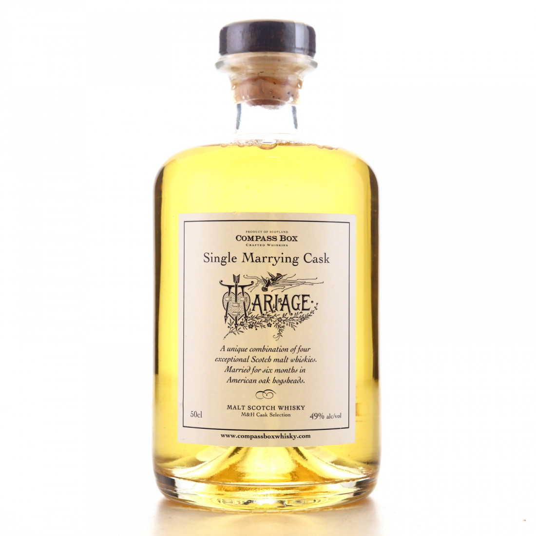 Compass Box Single Marrying Cask 50cl / LMDW