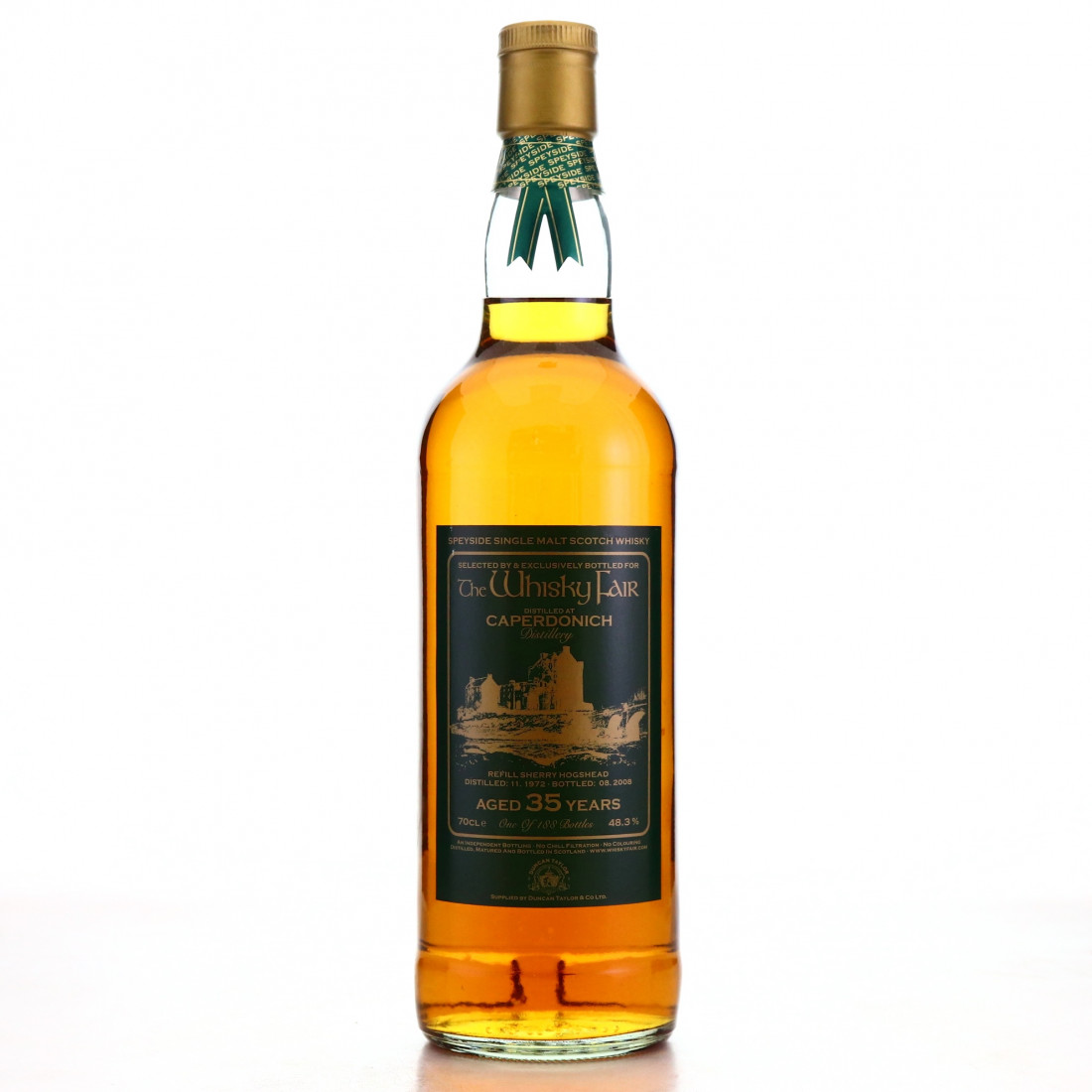 Caperdonich 1972 The Whisky Fair 35 Year Old