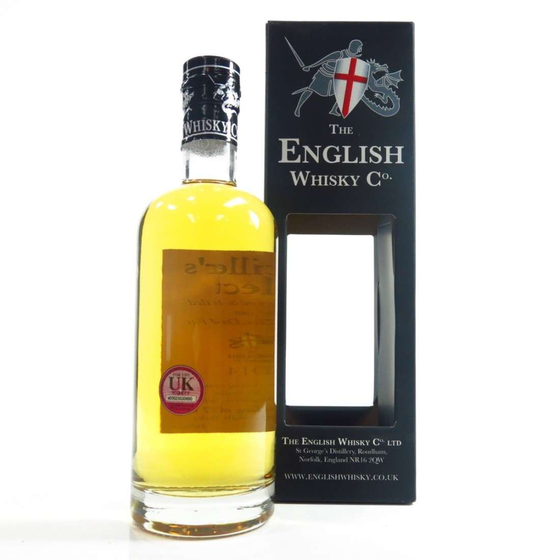 English Whisky Co 2014 Distiller's Elect