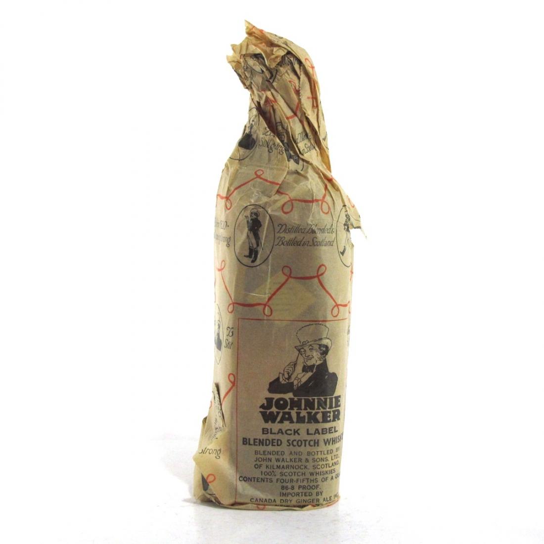Johnnie Walker Black Label 1950s / US Import