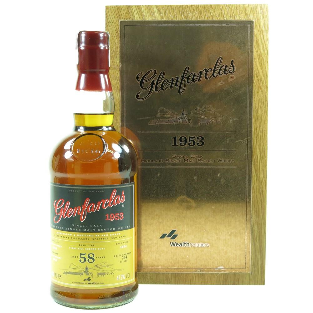Glenfarclas 1953 Single Cask 58 Year Old