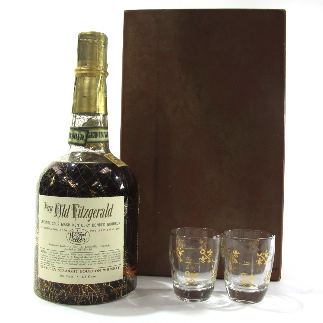 Very Xtra Old Fitzgerald 1957 Bonded 10 Year Old 100 Proof / Stitzel-Weller