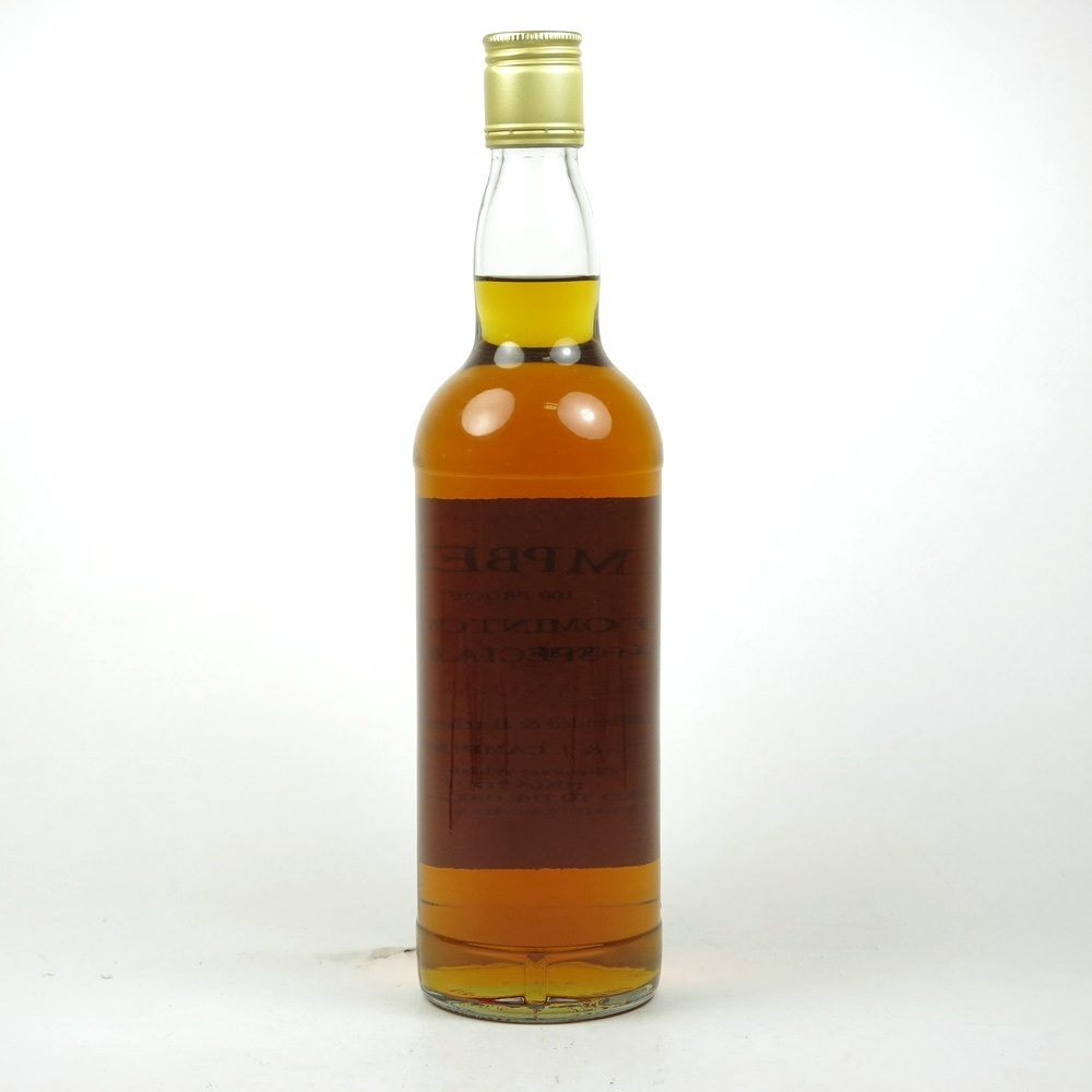 Campbell's Tomintoul 100 Proof Blend