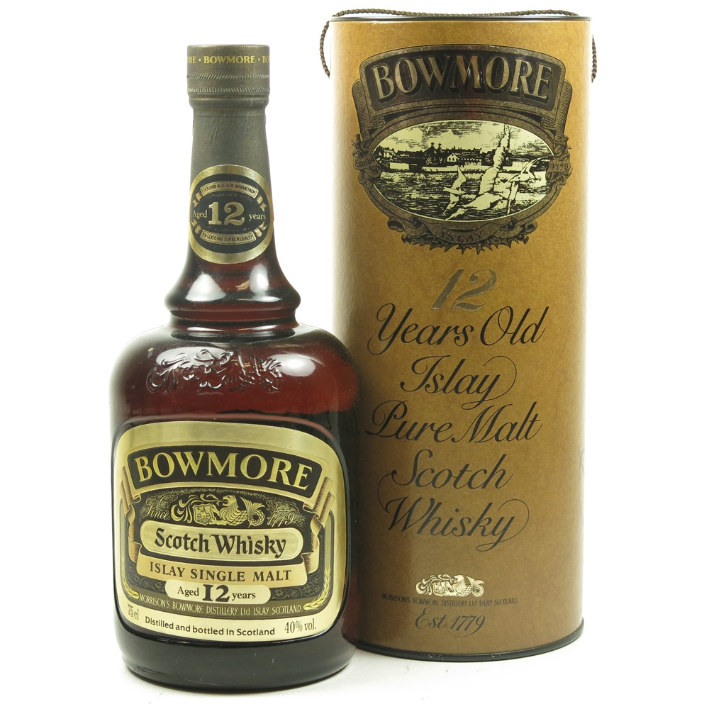 Bowmore 12 Year Old 75cl 1980s