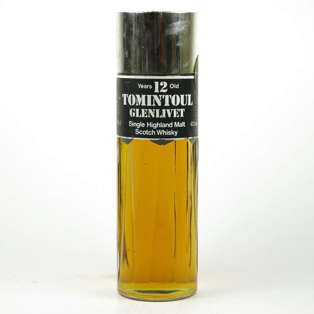 Tomintoul - Glenlivet 12 Year Old Perfume Bottle