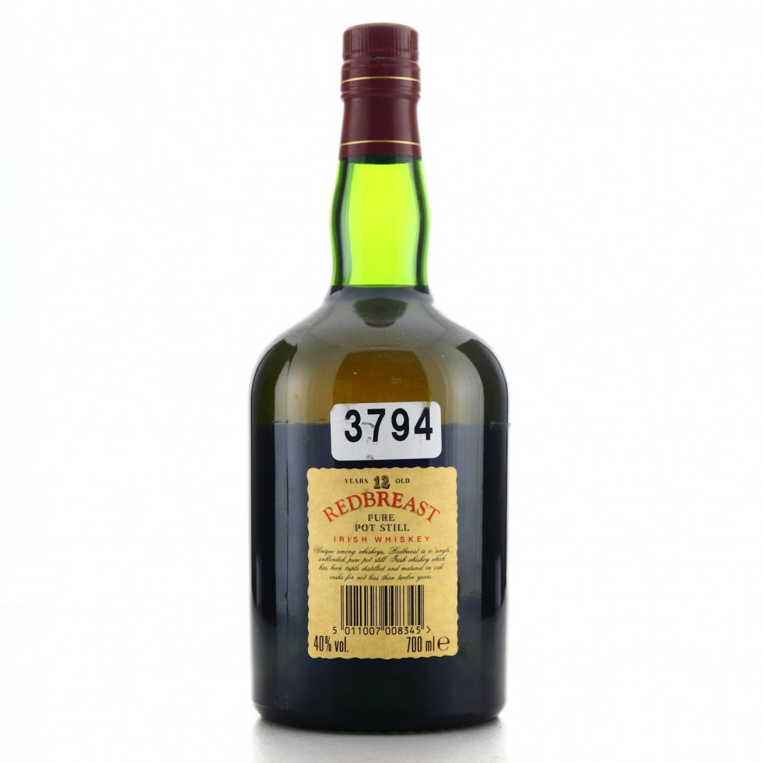 Redbreast 12 Year Old Fitzgerald and Co