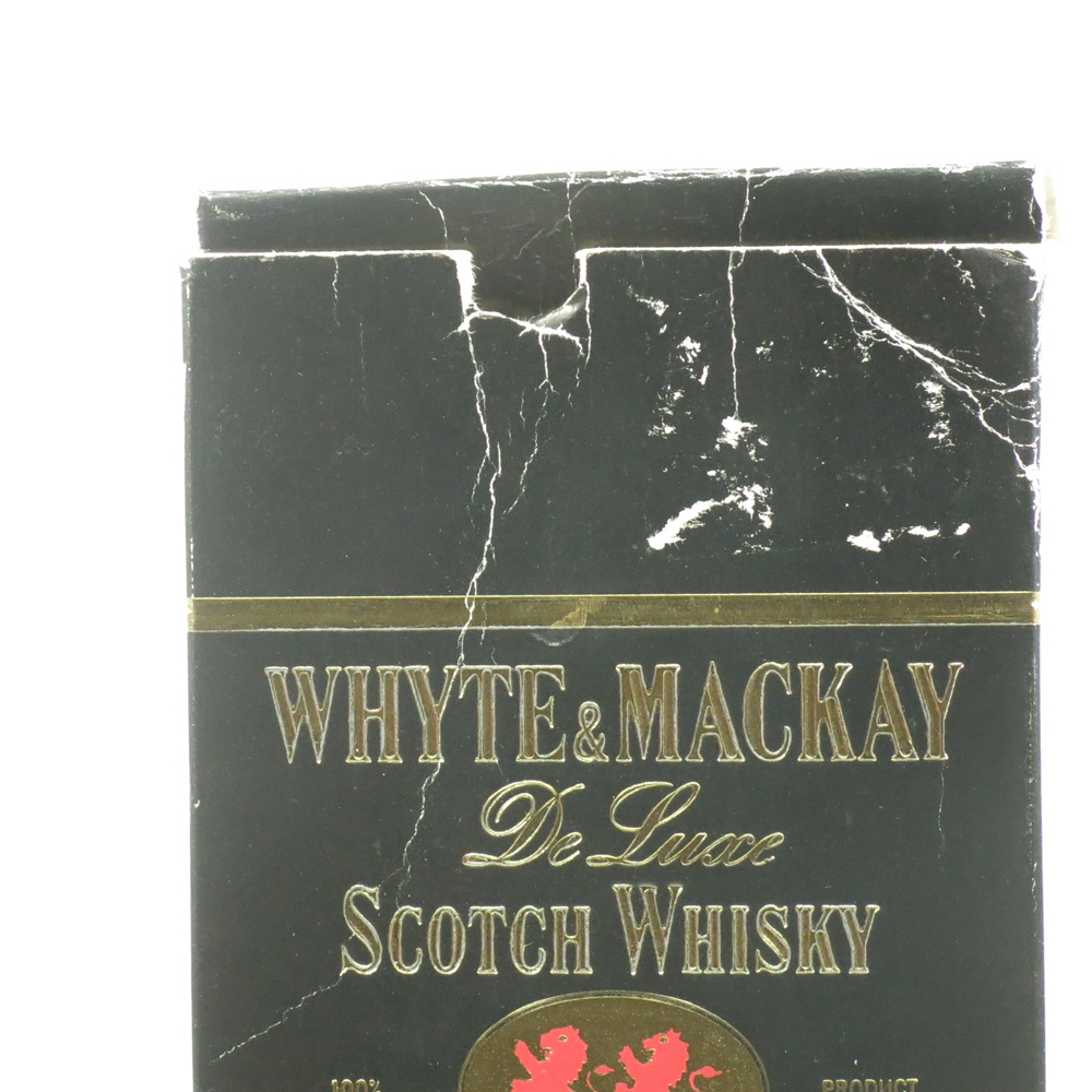 Whyte and Mackay Special and De Luxe 2x 75cl