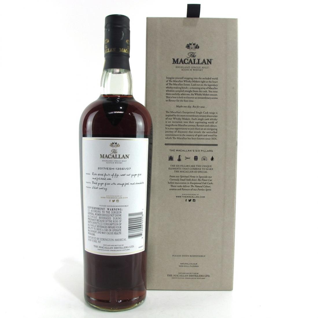 Macallan 1996 Exceptional Cask #13561-07 75cl / US Import