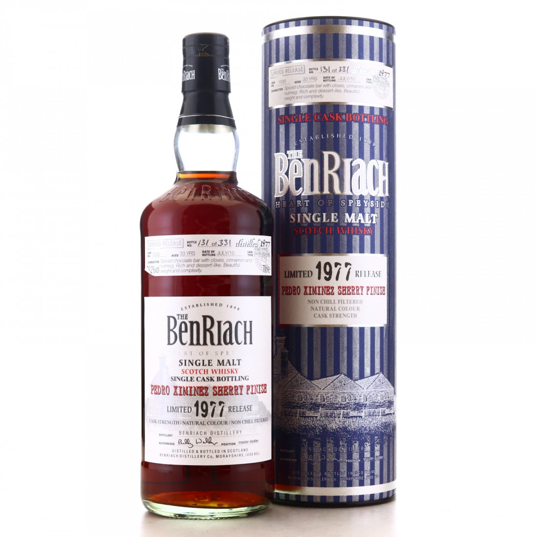 Benriach 1977 Single PX Cask 33 Year Old #1033