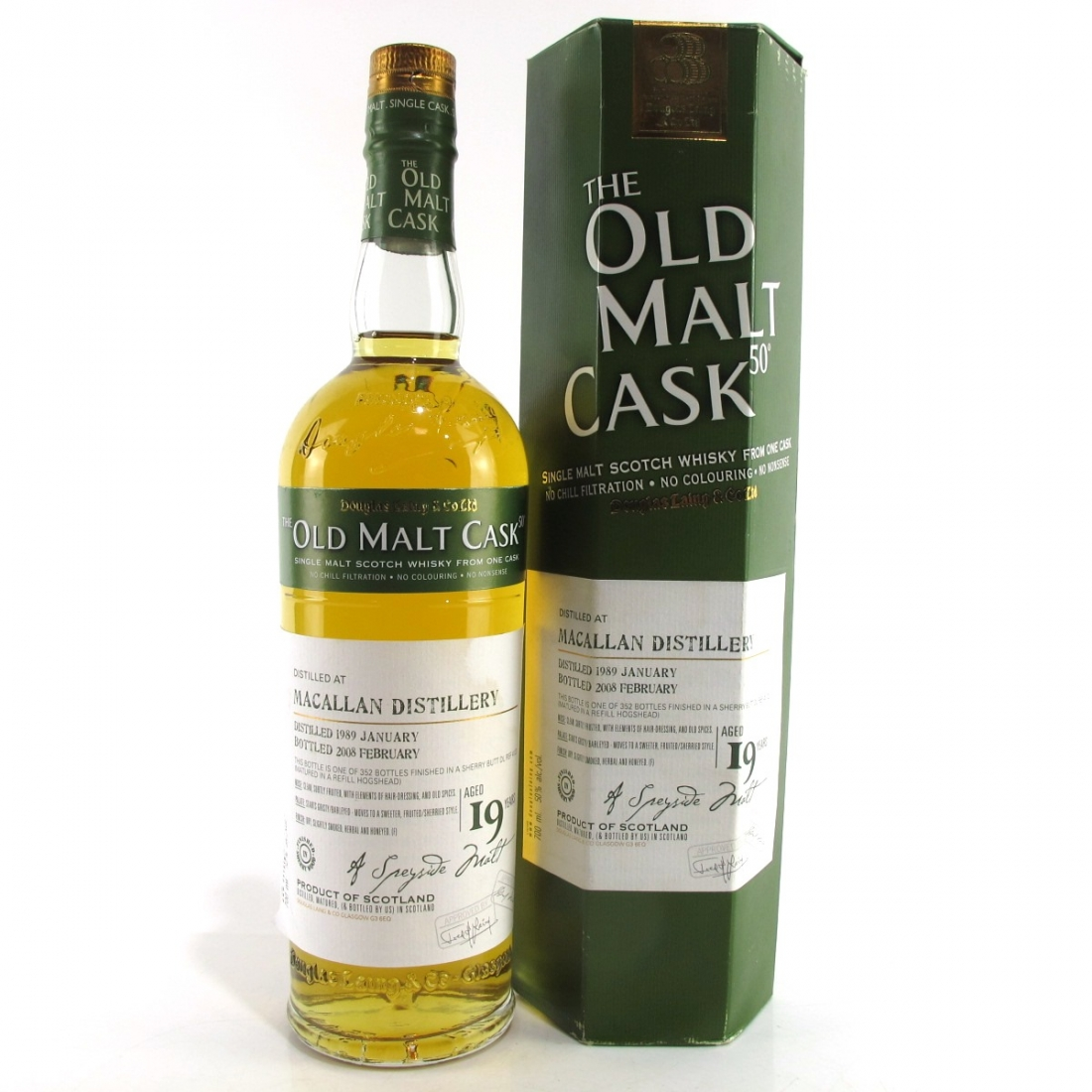 Macallan 1989 Douglas Laing 19 Year Old