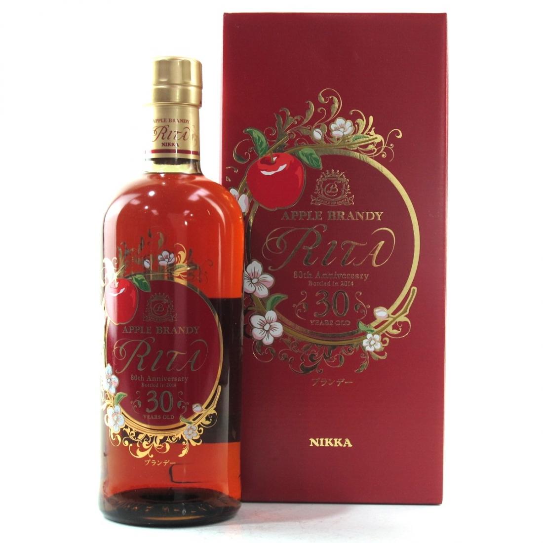 Nikka Rita 30 Year Old Apple Brandy 80th Anniversary