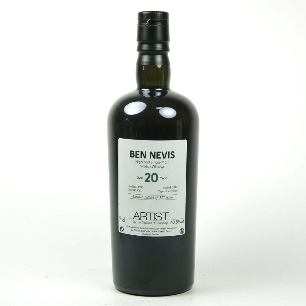 Ben Nevis 1990 La Maison du Whisky 20 Year Old
